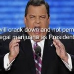 High Times Opinion Piece Says NJ's Christie Angling For AG By Endorsing Trump