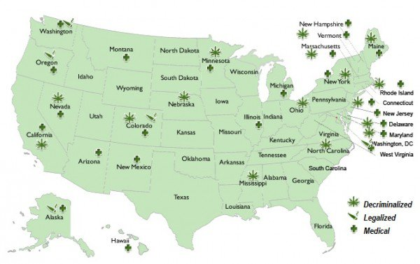 USA: NORML's Legalization Infographic