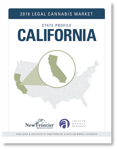 California: New Frontier's 2016 Report On California's Marijuana Market