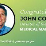 Pennsylvania Press Release : Head of State MMJ Program Announced