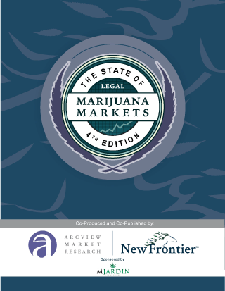 USA: New Frontier Data Publish Mid-year Update of The State of Legal Marijuana Markets Report, 4th Edition