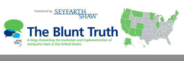 "Law Firm Seyfarth Shaw Publishes Cannabis Legal Blog ""The Blunt Truth"""