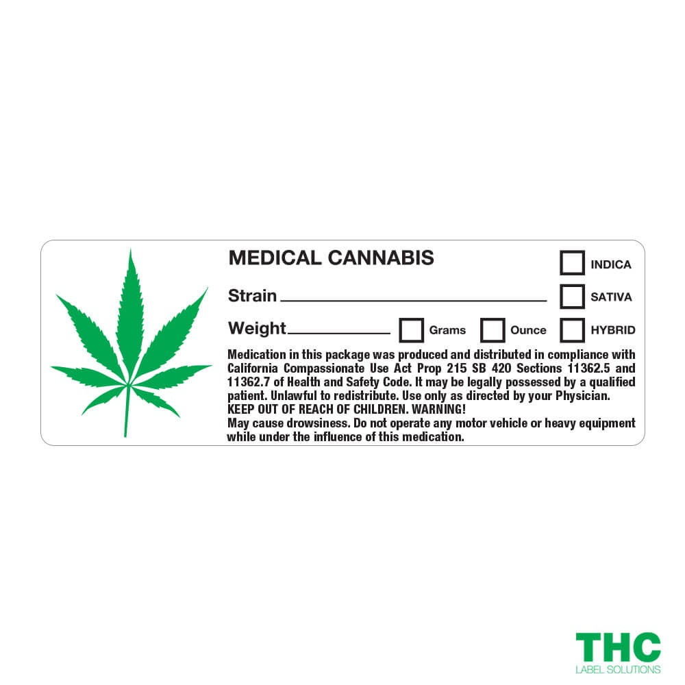 "Article:""Labeling Cannabis Products is a Booming Market"""
