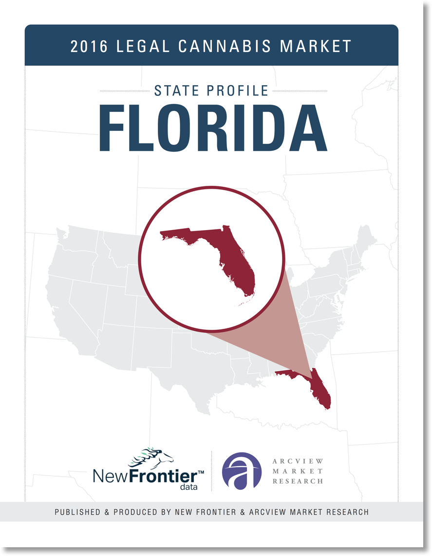 New Frontier Data Publish Report On Florida Cannabis Market