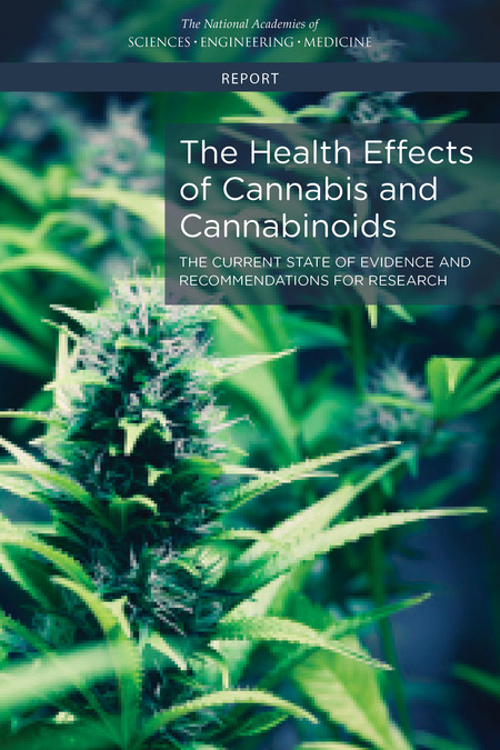 "USA: New Report ""The Health Effects of Cannabis and Cannabinoids: The Current State of Evidence and Recommendations for Research"""