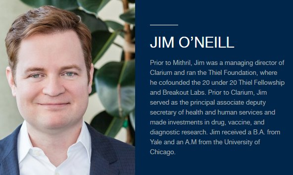 Could Trump Be Looking At Medical Marijuana Advocate, Jim O'Neill, For FDA Commissioner Post