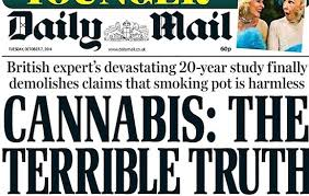 UK: Daily Mail Newspaper Op-Ed Asserts That Smoking Cannabis Can Turn You Into A Terrorist