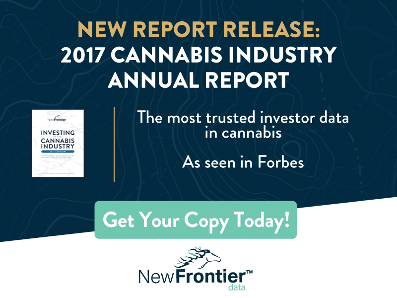 "New Frontier Data Publish ""2017 Investor Report"" Compiled With Viridian Capital Advisors"