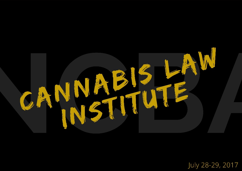 Aird & Bellis Sponsor Cannabis Law Institute
