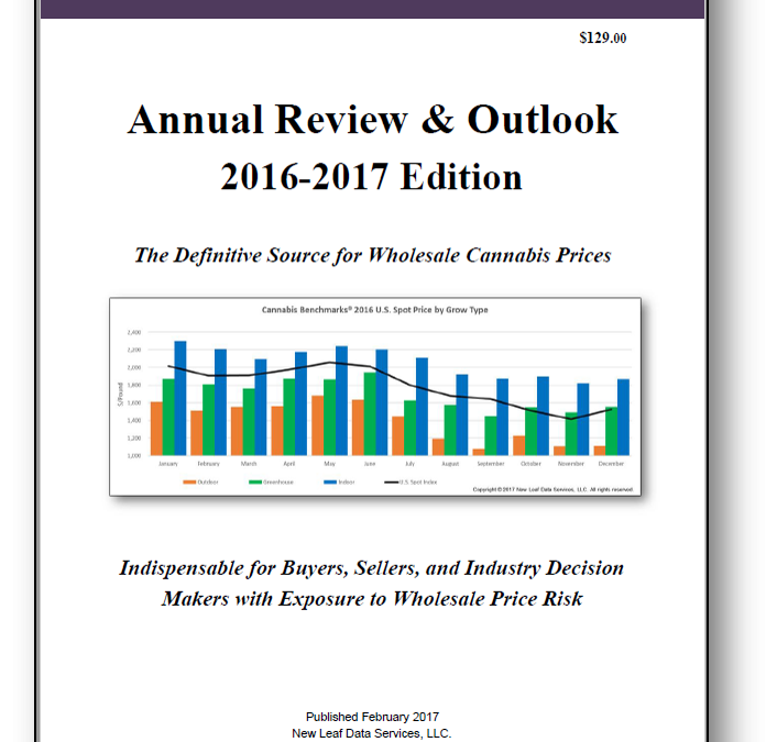 USA: Report Company Cannabis Benchmarks