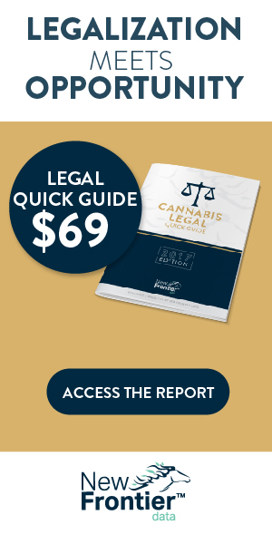 New Title From New Frontier Data: Cannabis Legal Quick Guide