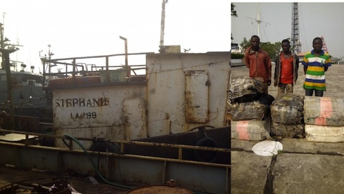 "Almost Friday Story ! Nigerian Cannabis Smugglers Jailed After Arrest  On Boat Named ""My Destiny"""