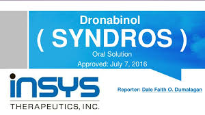 "DEA Set To Give ""Syndros"" Schedule II Status"