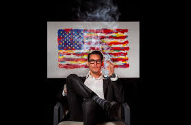Photo Of The Day: Democrat Running For Office In Illinois Smokes A Joint In Publicity Photograph