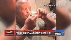Mississippi Police Chief On Video Smoking Cannabis