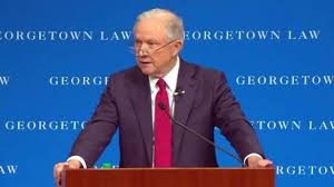 "Sessions Tells Georgetown Students That DOJ Won't Pursue Small ""Marijuana"" Cases"