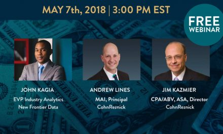 Webinar Monday 7 May 2018: New Frontier Data Webinar 3pm Tax & Cannabis