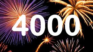 Not really breaking news but today we posted our 4,000th story
