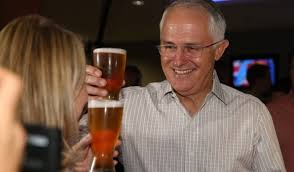 Australian PM Decries Cannabis Whilst Downing A Couple of Beers