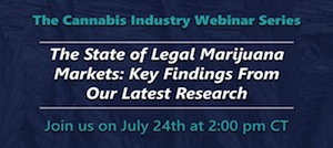 Webinar: The State of Legal Marijuana Markets: Key Findings From Our Latest Research