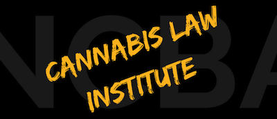Cannabis Law Institute Event Washington DC  September 2018