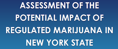 NY Dept of Health Report: Assessment Of The Potential Impact Of Regulated Marijuana In New York State