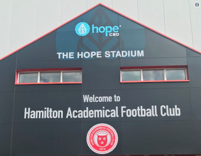 Scotland: Local CBD Company Secures Naming Rights For Premiership Football (Soccer) Club