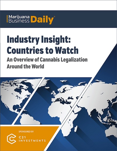 """MJ Biz Free Publication: International Industry Insight """"Countries To Watch"""" Report"""
