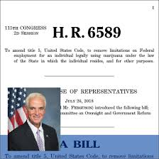 H.R. 6589: Fairness in Federal Drug Testing Under State Laws Act
