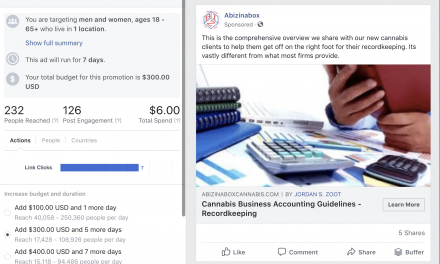 "Oakland Based Cannabis Professional Services Firm Banned From Facebook For Using Word, ""Cannabis"""