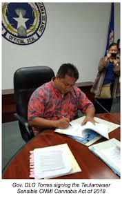 Northern Marianas Gov Signs In Cannabis Bill