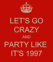 Cannabis…… Party Like It's 1997 !