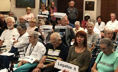 Radical Residents Of Laguna Woods Say Keep Cannabis Local