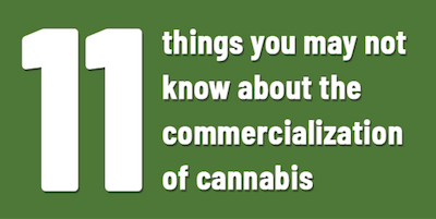 The Commercialization of Cannabis – Langlois Canada