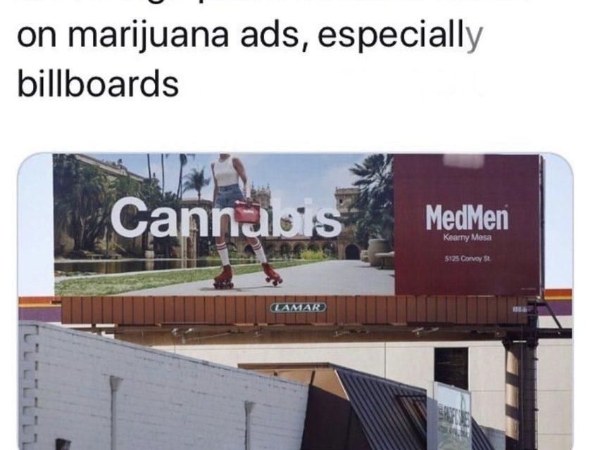 San Diego To Crack Down On Cannabis Billboard Advertising