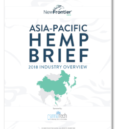 New Frontier Data Publish Hemp Asia Pacific Report