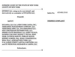 EPMMNY Suing Acreage Holdings & Others For $US400 Million In New York