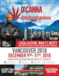 At The O'Cannabiz Conference and Expo Vancouver BC