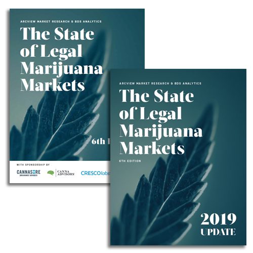 BDS Publish 2019 Update To The State of Legal Marijuana Marijuana Markets, 6th Edition