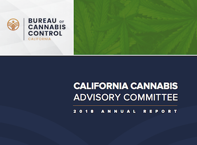 California's Cannabis Advisory Committee Annual Report For 2018 Now Published