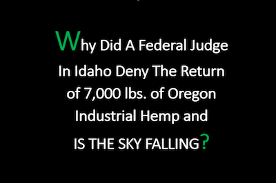 Greenlight Law Group Oregon Hemp Update