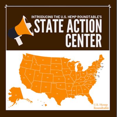 "U.S. Hemp Roundtable Found ""State Action Center."""
