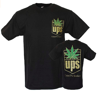 UPS Say Cannabis Delivery Service United Pot Smokers Is Involved in Trademark Infringement