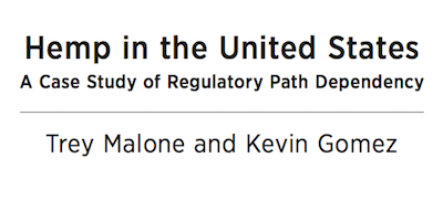Oxford Academic Publish: Hemp in the United States: A Case Study of Regulatory Path Dependence