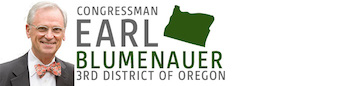 Oregon's Earl Blumenauer Issues Statement On SAFE Banking Act & Re-Introduction Of States Act