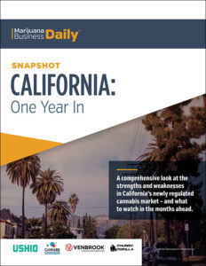 "MJ Biz Publish Guide, ""California One Year In"""