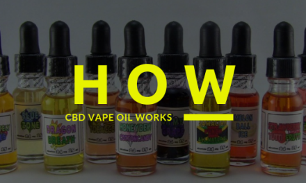 How CBD Vape Oil Works