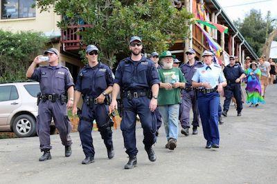 Australia: NSW Spent $A250,000 Policing Annual Nimbin Grass Festival, Mardigrass