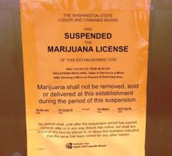 Washington State's Kushmart Closed By State Liquor & Cannabis Board For Selling To Minors