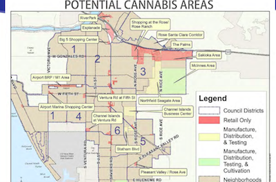 CA: Oxnard council gives approval to allow cannabis manufacturing, testing, distributing
